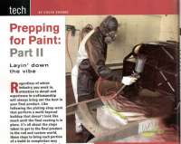 Paint Prep Article