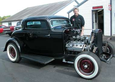 Jim and his '32