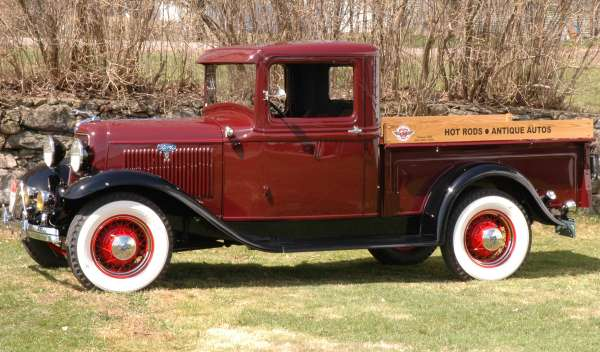 34 Ford Pickup