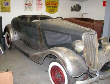 '34 Roadster : Before